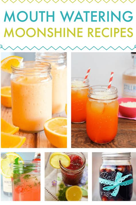 mouth watering homemade moonshine recipes drink recipes