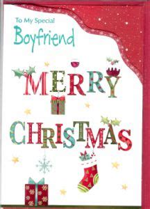 christmas boyfriend girlfriend english greeting cards