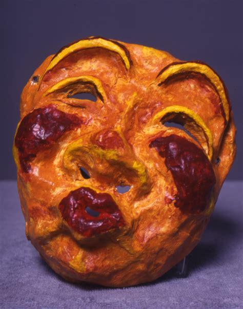 Make Paper Mache Mask - mask papier mache paper mache rabble ca