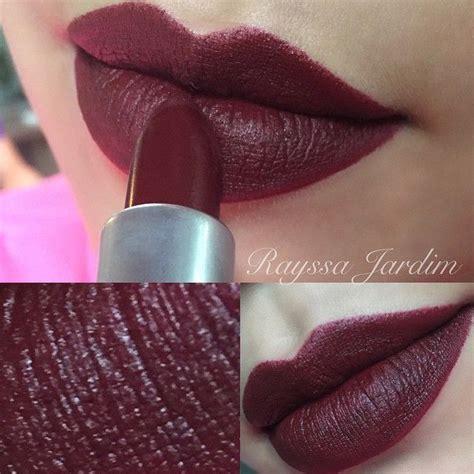 matte maroon lipstick mac lipstick quot sin quot matte maccosmetics lip color