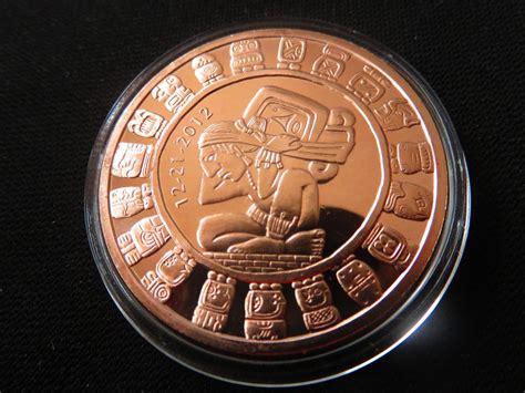 imagenes de monedas mayas moneda onza de cobre calendario maya fin del mundo 12
