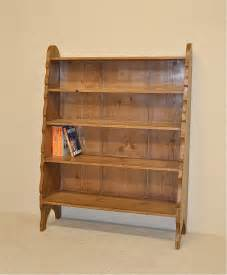 pine bookcase pine waterfall bookcase antiques atlas