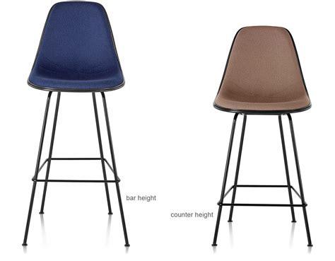 herman miller bar stools eames 174 upholstered stool hivemodern com