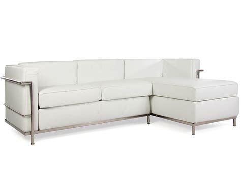 famous sofas lc2 le corbusier corner sofa white