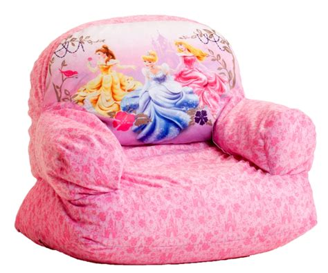 disney 3 princess bean bag chair by comfort research