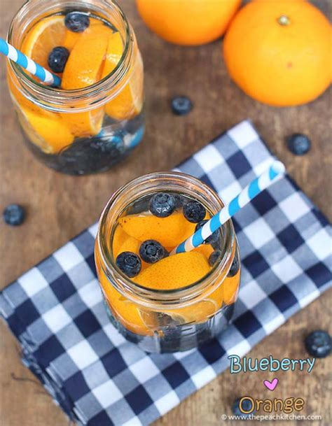 Pineapple Blueberry Detox Water by 31 Diy Detox Water Recipes Drinks To Start 2016