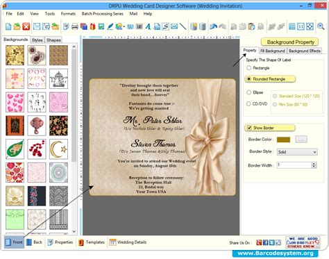 wedding invitation creator wedding card creator maker software design invi and free