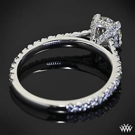 pave engagement rings and wedding bands pave d in