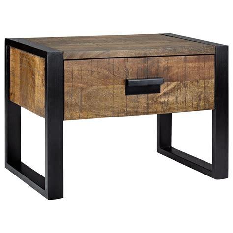 table de nuit style industriel table de nuit industriel table de nuit industriel en m