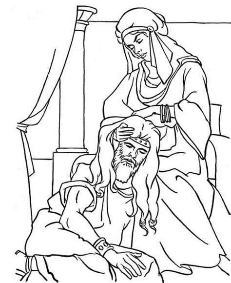 Samson Pillars Coloring Page by Samson And Coloring Pages Shared By 487155