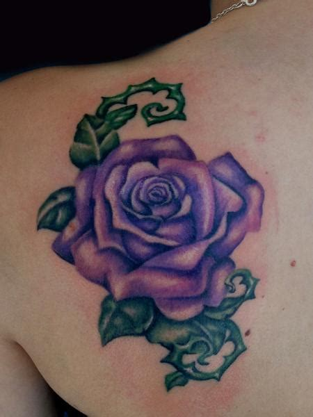 purple rose shoulder tattoo 1000 images about tattoos i on flower