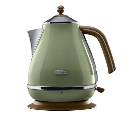 delonghi olive buy delonghi icona vintage kbov3001gr jug kettle olive green free delivery currys