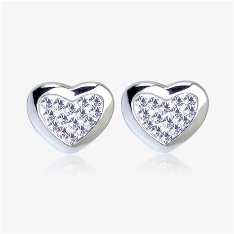 Swarovski Earrings tania sterling silver earrings made with swarovski