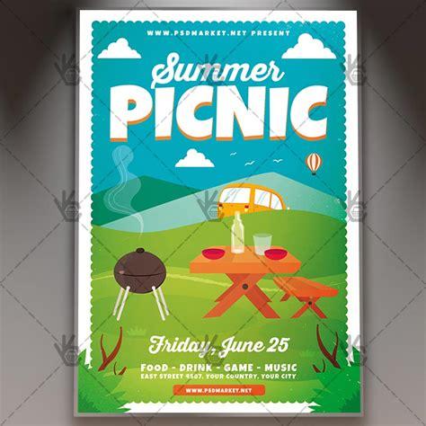 Summer Picnic Flyer Template