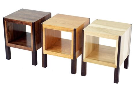 meubles design en bois recycl 233 tables basses tabourets