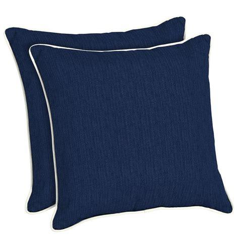 home decorators outdoor pillows home decorators collection sunbrella spectrum indigo