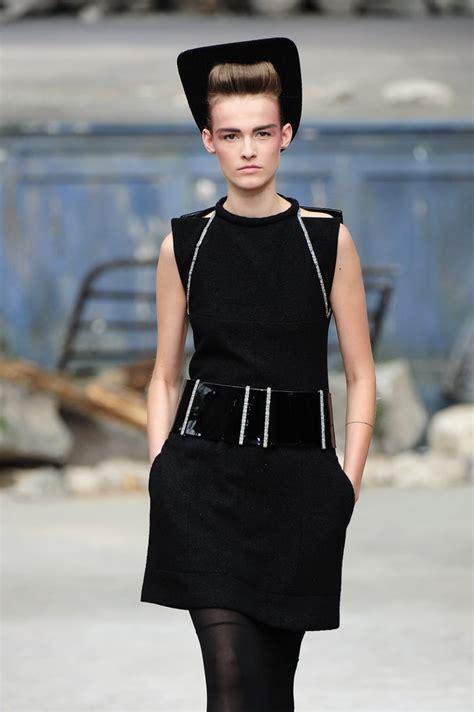 chanel  created   black dress