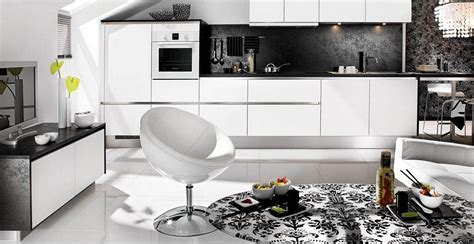 White And Black Kitchen Designs Black And White Kitchen Design For Your Best Home