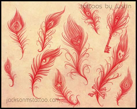 tattoo flash feather peacock feather tattoo flash by jacksonmstattoo on deviantart