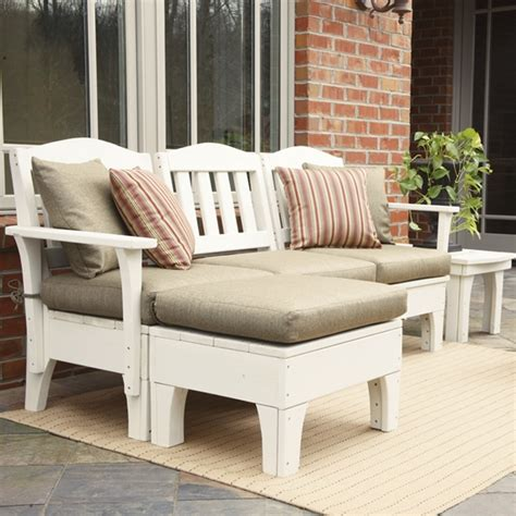 small patio sectional uwharrie chair westport small patio sectional set uw