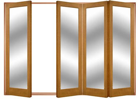 Accordion Doors Interior Astbury Oak Glazed Internal Accordian Glass Doors
