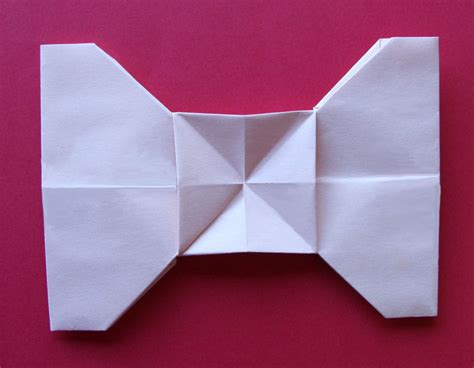 How To Fold Paper Ribbon - creative creasings ribbon bow letter fold part two