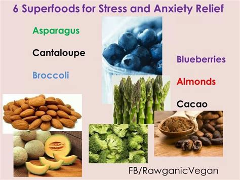 7 Best Foods For Stress Relief by Superfoods For Stress Anxiety Relief Food