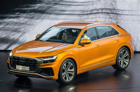 audi x6 audi q8 suv range rover sport and bmw x6 rival launched