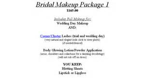 Bridal Makeup Package Bridal Makeup Packages