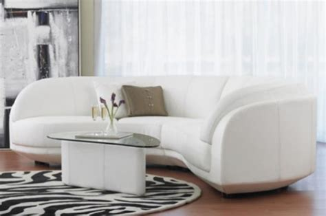 rundes sofa ikea the effect of a curved leather sofa upon your