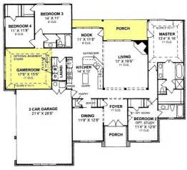 3 Car Garage Floor Plans Gallery For Gt 3 Car Garage House Plans