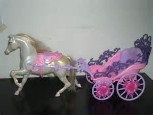 vintage barbie horse and carriage playset mattel rapunzel ebay