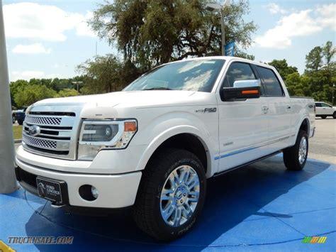 2014 ford f150 4x4 2014 ford f150 platinum supercrew 4x4 in white platinum