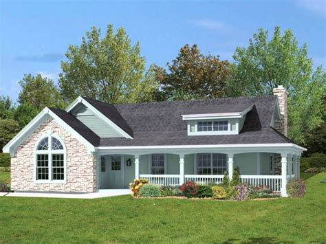 Country Home Plans With Porches One Story Country House Plans With Porches House Design