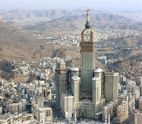 al bait the abraj al bait tower in makkah saudi arabia gets ready