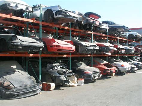 porsche junk yards l a s finest dismantler that is
