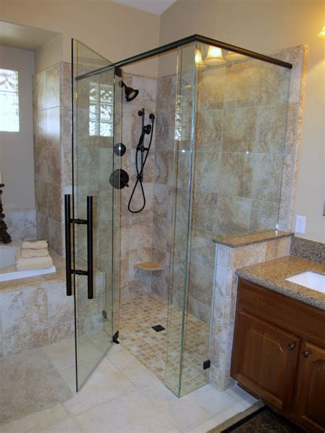 Custom Shower Glass Door Glass Repair Mesa Az Shower Doors Mirrors Windows Table Tops