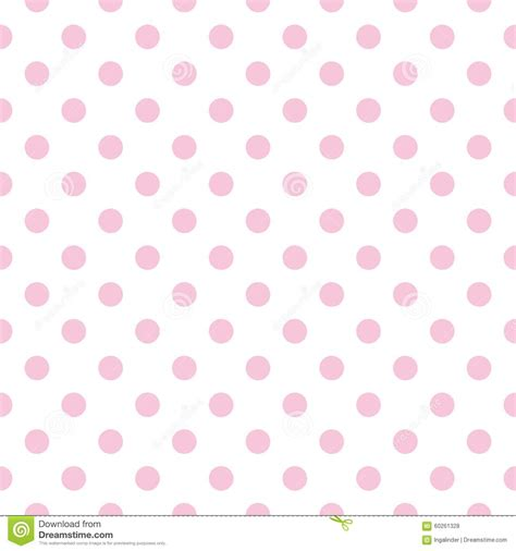 background pattern pink dots tile vector pattern with pink polka dots on white