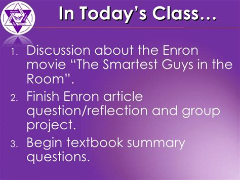 enron the smartest guys in the room summary acct120 class 5 enron article textbook questions