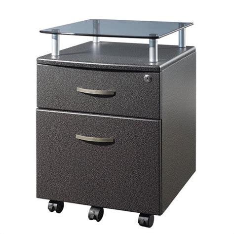 2 Drawer Pedestal File Cabinet by Techni Mobili Seguro Mobile 2 Drawer File Pedestal