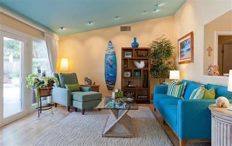 beach living room decor theme  house