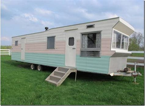 trailer houses capsule rollohome mobile home trailer for sale pattern