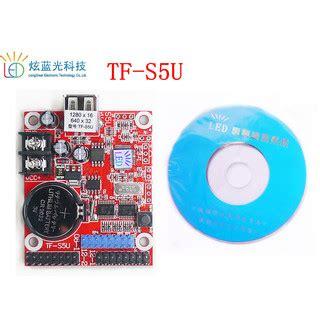 Tf Su Led Controller led display card for p10 module usb port tf s5u