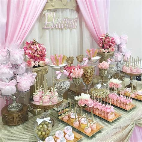 Table Set Decoration 15 Bridal Shower Birthday Baby Shower princess baby shower ideas photo 2 of 6 catch my