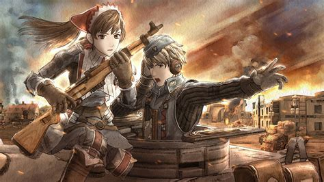Kaset Ps4 Valkyria Revolution valkyria azure revolution y valkyria chronicles remaster anunciados para ps4
