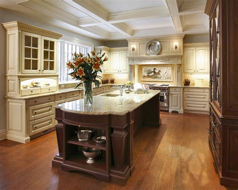traditional kitchen islands traditional kitchen designs and elements theydesign net