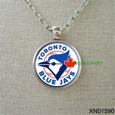 unique gifts for baseball fans toronto blue jays baseball personalized necklace cool
