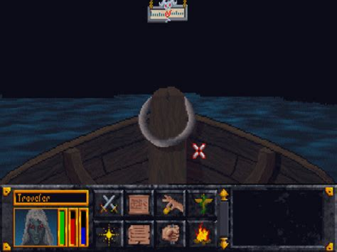 on a boat with my flippy floppies rpg codex retrospective review the elder scrolls arena