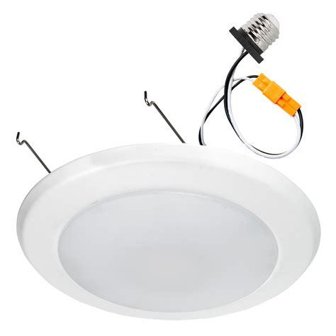 flush mount led can lights 7 quot led downlight flush mount ceiling light retrofit