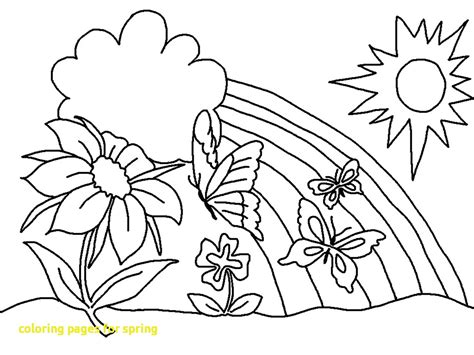 coloring book page size coloring pages for spring with 7 kids spring coloring